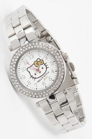 Часы наручные Hello Kitty. Цвет: металлический