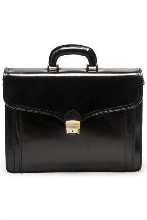 Портфель CARLA FERRERI. Цвет: черный