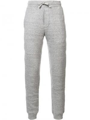 Cabin sweatpants Wings+Horns. Цвет: серый