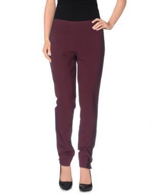 Повседневные брюки MALÌPARMI. Цвет: фиолетовый