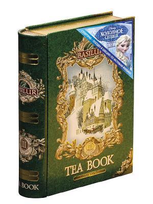 Чай Basilur Чайная книга. Том 3 Tea Book III, 1 КНИГА. Цвет: зеленый
