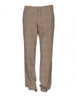 Повседневные брюки GANESH. Цвет: бежевый