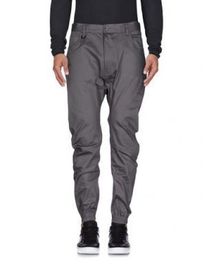 Джинсовые брюки PUBLISH. Цвет: свинцово-серый