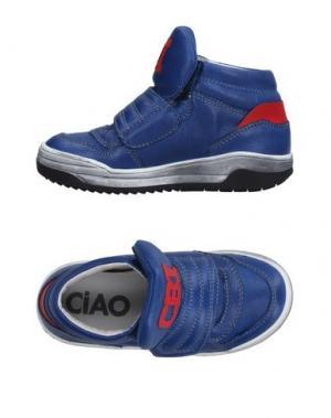 Высокие кеды и кроссовки CIAO. Цвет: синий