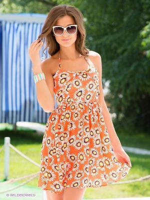 Сарафан Kling. Цвет: оранжевый