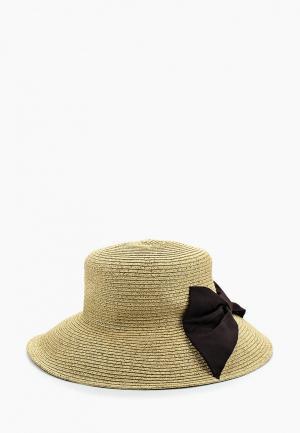 Шляпа Moltini. Цвет: бежевый