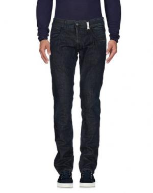 Джинсовые брюки HIGH. Цвет: синий