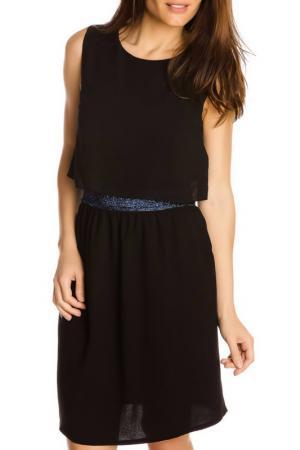Платье GAZOIL. Цвет: black
