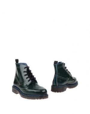 Полусапоги и высокие ботинки PHILIPPE MODEL. Цвет: изумрудно-зеленый