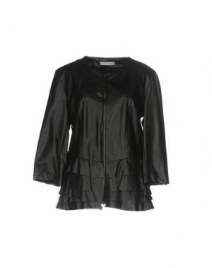 Куртка PAOLO CASALINI. Цвет: черный