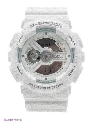 Часы G-Shock GA-110HT-7A CASIO. Цвет: белый