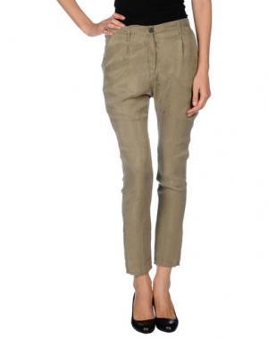 Повседневные брюки NOVEMB3R. Цвет: зеленый-милитари