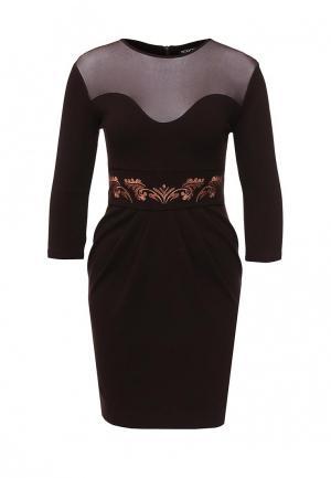 Платье Borodulins Borodulin's. Цвет: коричневый