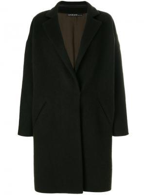 Однобортное пальто 32 Paradis Sprung Frères. Цвет: серый