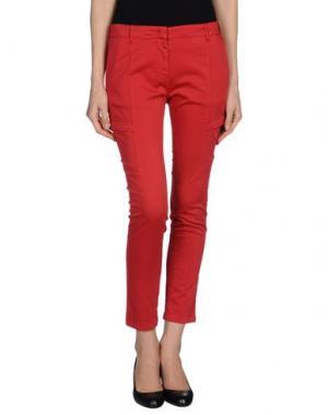 Повседневные брюки G.T.A. MANIFATTURA PANTALONI. Цвет: красный