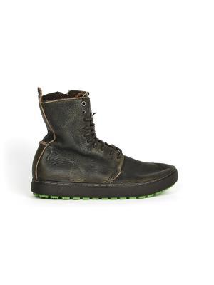 Ботинки Satorisan. Цвет: зеленый