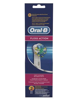 Сменные насадки ORAL-B Stages Kids 2шт для электрических зубных щеток, принцессы ORAL_B. Цвет: белый