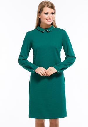 Платье Remix. Цвет: зеленый