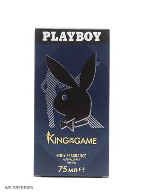Playboy KING М Товар Pby парфюмированная вода муж 75 мл. Цвет: прозрачный