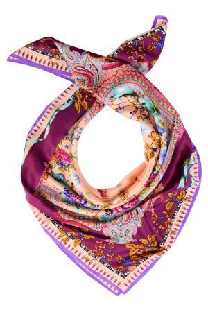 Платок Laccom. Цвет: фиолетовый