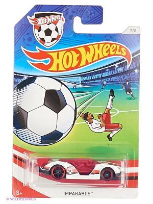 Декорированная серия машинок Кубок УЕФА Hot Wheels. Цвет: белый, красный