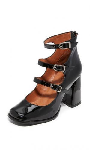 Туфли-лодочки Ingram Jeffrey Campbell. Цвет: черный лакированный