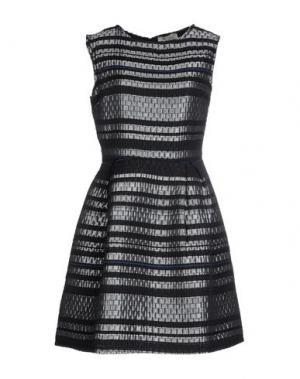 Короткое платье LOU LONDON. Цвет: серый