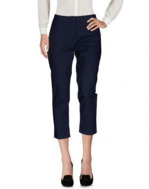 Повседневные брюки ANONYME DESIGNERS. Цвет: синий