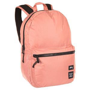 Рюкзак городской  Rip Stop Lawson Backpack Pink Stussy. Цвет: розовый
