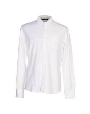 Pубашка LONGJOURNEY. Цвет: белый