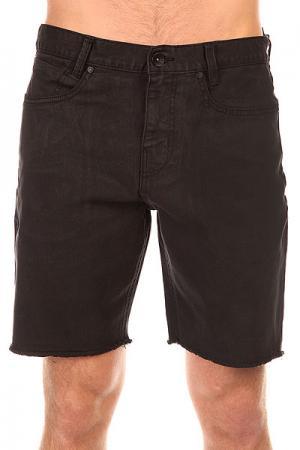 Шорты джинсовые  Cut Off Black Overdye Billabong. Цвет: черный