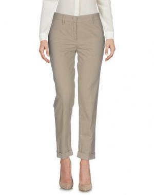 Повседневные брюки ASPESI. Цвет: бежевый