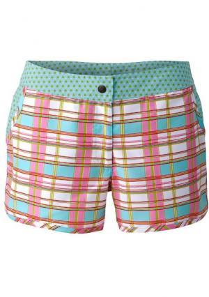 Пляжные шорты. Цвет: розовый/голубой