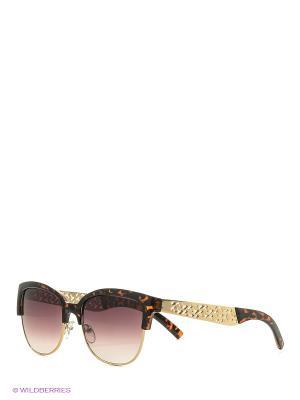 Солнцезащитные очки Vita pelle. Цвет: коричневый