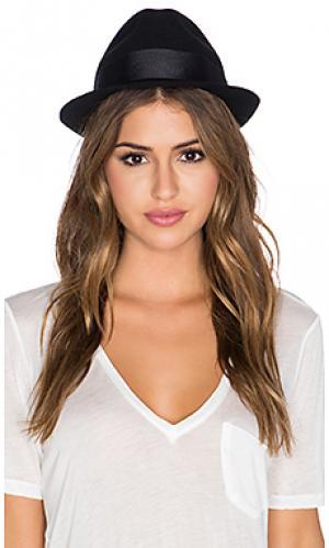 Шляпа urbano Artesano. Цвет: черный