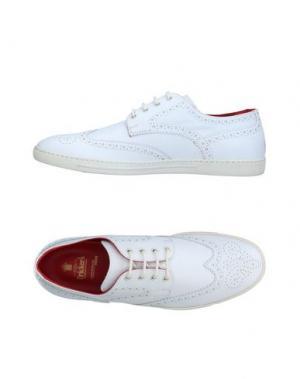 Обувь на шнурках TRICKER'S. Цвет: белый