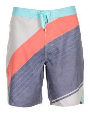 Пляжные брюки и шорты RIPCURL. Цвет: светло-серый