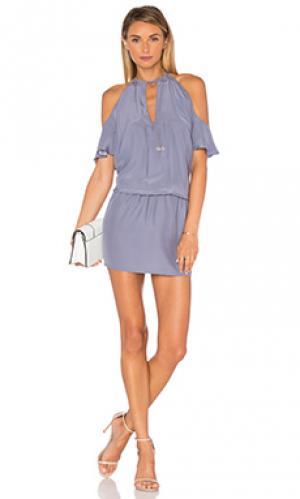Платье celia Amanda Uprichard. Цвет: серый