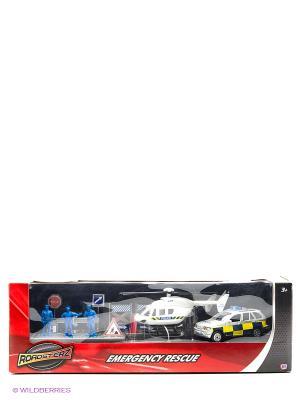 Игровой набор Полицейская команда HTI. Цвет: синий