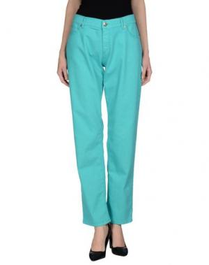 Джинсовые брюки TER DE CARACTÈRE. Цвет: бирюзовый