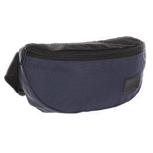 Сумка поясная  Small Patch Bag Navy/Black Skills. Цвет: синий,черный