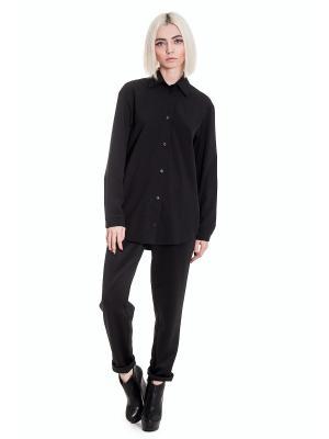 Рубашка JATRAW. Цвет: черный