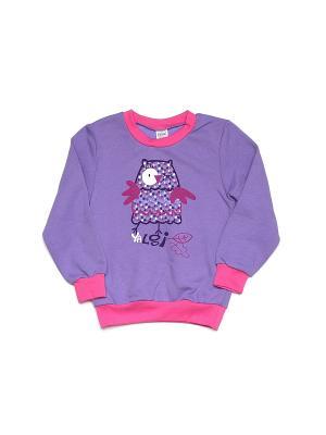 Джемпер Yallo Kids. Цвет: фиолетовый