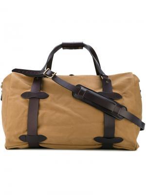 Дорожная сумка Filson. Цвет: телесный