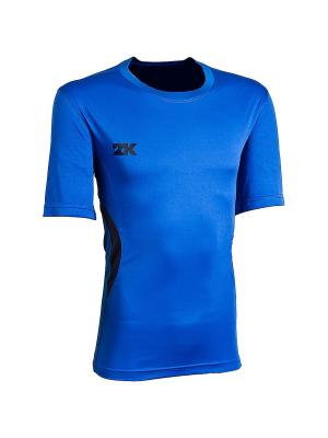 Футболка тренировочная Energy 2K. Цвет: синий, темно-синий