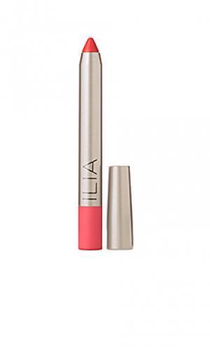 Губная помада lipstick Ilia. Цвет: розовый
