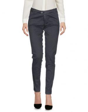 Повседневные брюки BONHEUR. Цвет: свинцово-серый