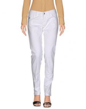 Повседневные брюки HOGAN. Цвет: белый