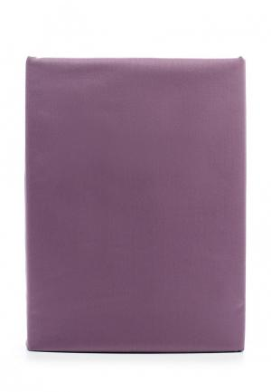 Комплект постельного белья 1,5-спальный Хлопковый Край. Цвет: фиолетовый