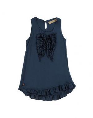 Платье MANILA GRACE DENIM. Цвет: синий